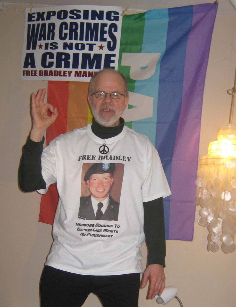 Click on Bradley Manning